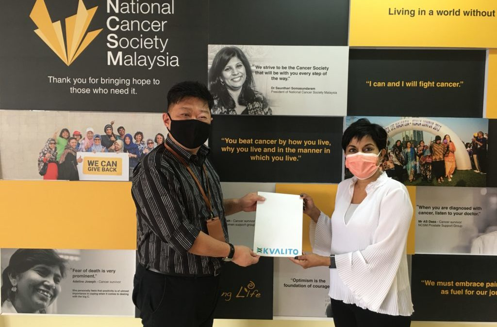 KVALITO Consulting Group supports National Cancer Society Malaysia (NCSM)