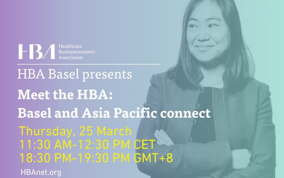 Sponsored by KVALITO – Meet the HBA: Basel and Asia Pacific Connect